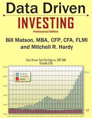 Data Driven Investing Book Cover